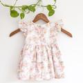 Eco Cotton Flutter Dress Size 1