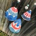 Garden bell/ wind chime SET of 3