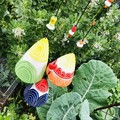 🌈 Garden bell/ wind chime SET of 3