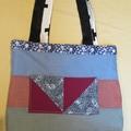 Reversible Patchwork Tote Bag
