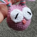 Set of Crochet Mini Owls Softies, Owl Amigurumi, Owl Decoration