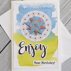 Enjoy Your Birthday Handmade Card