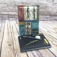 Egyptian Fabric Notebook Cover