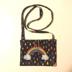 Rainbow cross-body bag