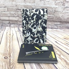 Cows Fabric Notebook Cover