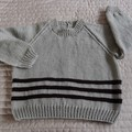 SIZE 5 -6 yrs - Hand knitted jumper  CuddleCorner