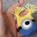 Handmade Crochet Animal Keychains, Decorative Keychains, Keychains on Sale