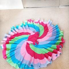 Pastels swirly dress