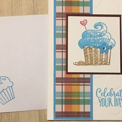 Birthday Card - cupcake