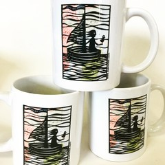 'Savour the Journey' coffee mug