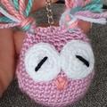 Handmade Crochet Animal Keychains, Decorative Keychains, Keychains on Sale