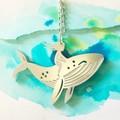 """Whale Rider"" pendant"