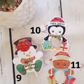 Christmas Lollipop Holders | Lollipop cut outs REGULAR- 6pk - PERFECT CLASS GIFT