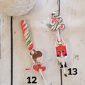 Christmas Candy Cane Tags | Lollipop tags - 12pk - PERFECT CLASS GIFT