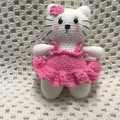 Cat: READY TO POST, Crochet Toy, Girl Gift