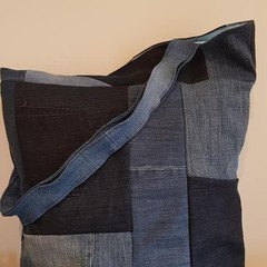 Recycled Tote Patchwork