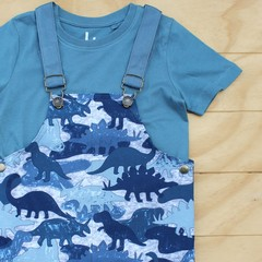 The Dinosaur Herd - Classic Overalls - Size 4