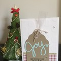 Christmas Handmade Card  - Joy