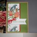 AUSTRALIAN CHRISTMAS CARD (Postage Included)