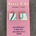 Square chunky studs