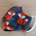 Foxy Fabric Face Mask