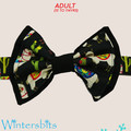 Llama bow tie. Teen/adult size. Velcro closure.