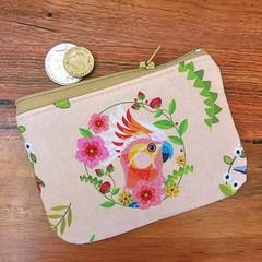 Coin purse - Cockatoo
