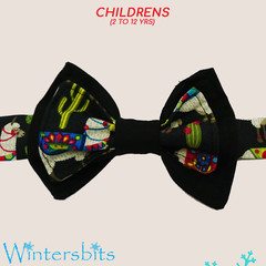Llama Bow tie. Child size.