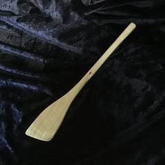 Hand crafted wooden spatula...Camphor Laurel.