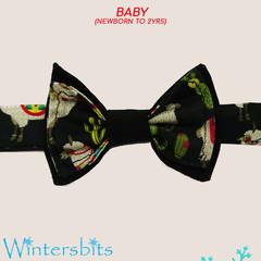 Llama bow tie. Baby size.
