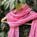 Raspberry Ripple Cotton Scarf