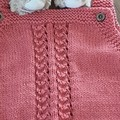 Hand knitted romper suit - ideal for 6 month old