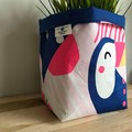 Small fabric planter | Storage basket | Pot cover | TOUCAN