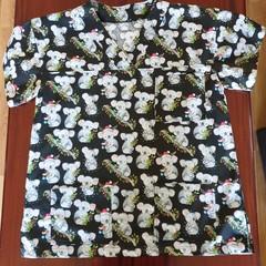 "Christmas Scrub Top ""Koalas"""