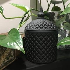 Large Miami Wax Candle - Black Matte Jar