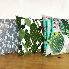 Cotton Canvas Accent Cushion Covers 45x45
