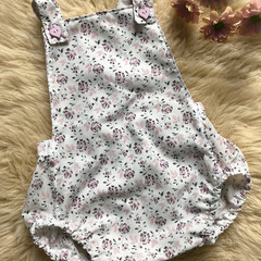 PASTEL FLORAL SUMMER ROMPER, Size 000, 00 and 0 available