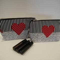 Essential Oil Bags - Love Heart