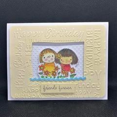 Birthday/ Child birthday Card / kids birthday card / Blank card / Friend