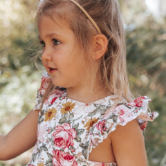 Floral Polly Pinafore Dress