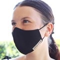 face mask, adjustable straps,3 layers, 100% cotton