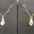 17mm Crystal Aurora Borealis Swarovski® crystal Teardrop Pendant