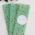 Organic Beeswax Wraps Pine Resin 3 Set Veggie Wraps Bowl Cover
