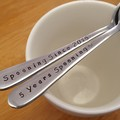 Custom Years of Spooning,Spooning Since,Anniversary Custom Gift, husband, wife
