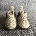 Little boys crochet work boot