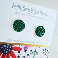 Druzy - Silver Plated Studs