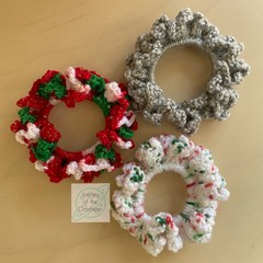 Christmas fidget hair ties