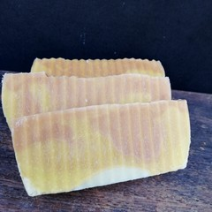 'Here Comes The Sun' Cedarwood and Lime Handmade Soap