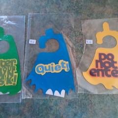 Child's Door hangers