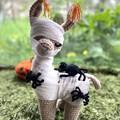 Halloween Llama Halloween Decoration Handmade Toy